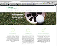 Sample Site Build It! site - Golf-Club-Revue.com