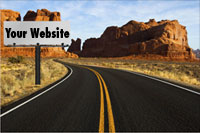 website lost in the desert
